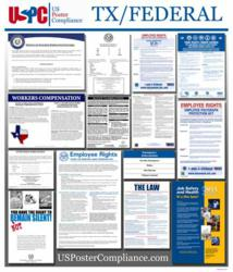 All-In-One Poster Featuring Texas and Federal Labor Law Documents